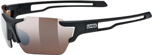 UVEX Sportstyle 803 Race VM Sportglasses black red matt/ltm.blue 2018 Triathlon Brillen 7gyvMK